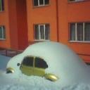 Vosvos ve Kar Fotoğrafları